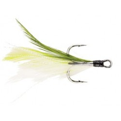 Chartreuse and White